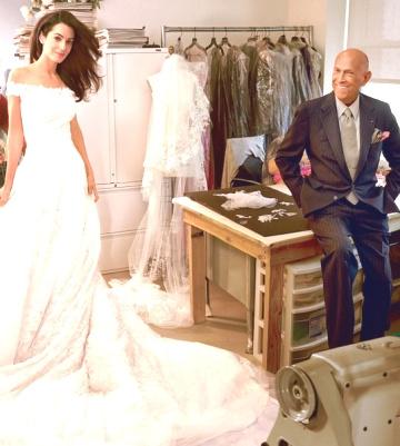 История моды — 12  звездных платьев дизайнера Оскара де ла Рента