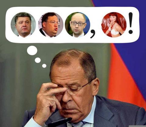 Шах и мат, Лавров!»: Лучшие умы Порошенко додумались объявить России «оборонную войну