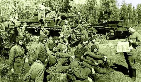 Как наши танкисты добывали с…