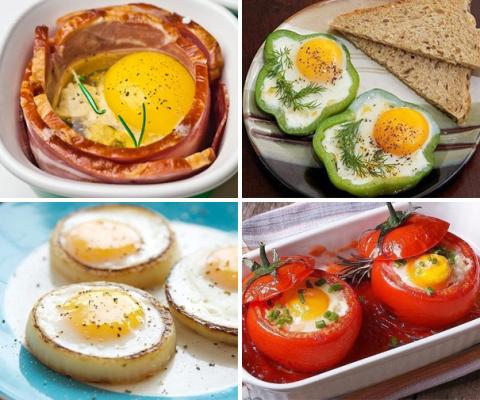 Готовим оригинальные яйца на завтрак!