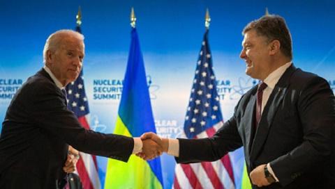 Президент Украины ликует или очередной многообещающий визит американского барина