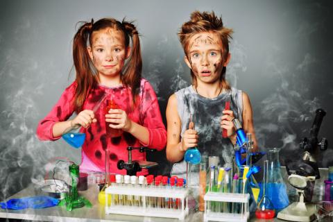 Домашние химические фокусы для детей: волшебство на кухне