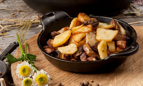 5 рецептов с грибами: от риз…