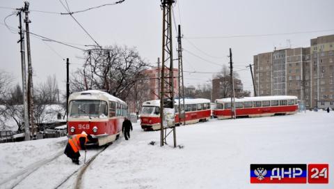 Снегопад в ДНР продлится около суток, ожидаются метель и порывы ветра
