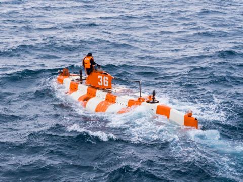 Подводную лодку положат на грунт в Баренцевом море