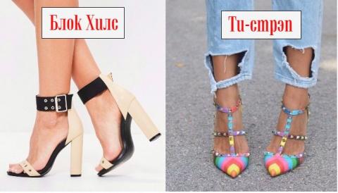 Самая модная летняя обувь 2017