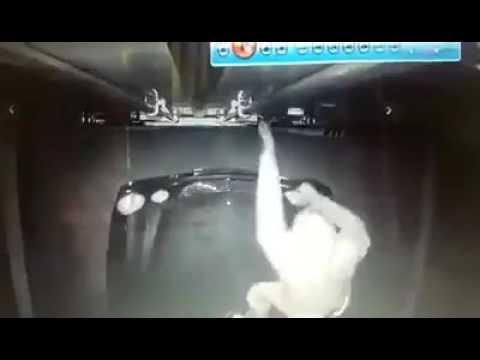 Попытка ограбления фуры: видео дня