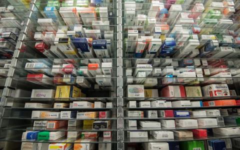 Таблетки под  наперстками