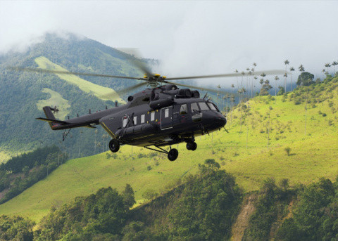 Начались испытания вертолета Ми-171 с композитным винтом