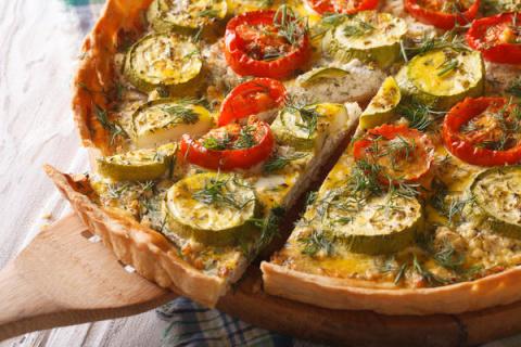 Овощные пироги: осенние реце…