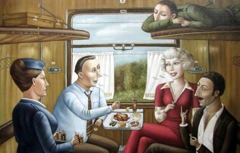 Зачем такие люди ездят в поездах?