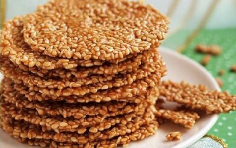 Хрустящее кунжутное печенье за 15 минут. Сироп из плодов шиповника - 5 рецептов