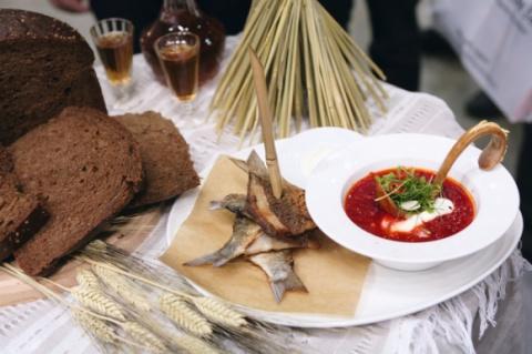 Борщ с карасями Кулинарный пятничный Авось