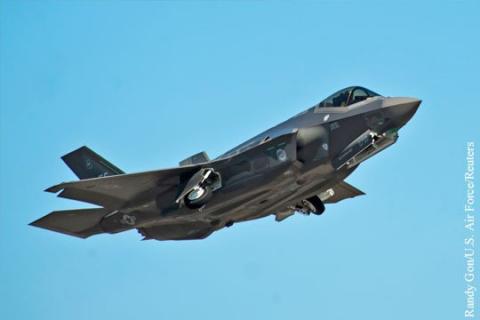 Дорогостоящий американский F-35 не может наводить пушку на цель