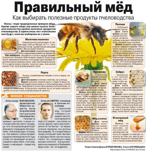 7 крайне полезных продуктов пчеловодства: советы по выбору