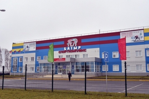 Новая ледовая арена открыта в Татарстане