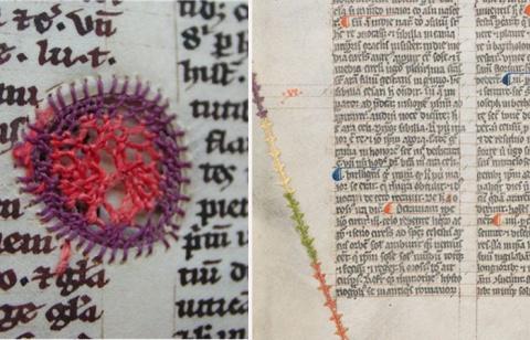 Шрамы на пергаменте: Как реанимировали книги в Средневековье