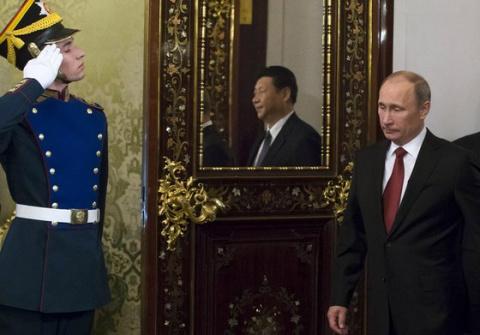 Путин приедет к Си Цзиньпину решать судьбу мира