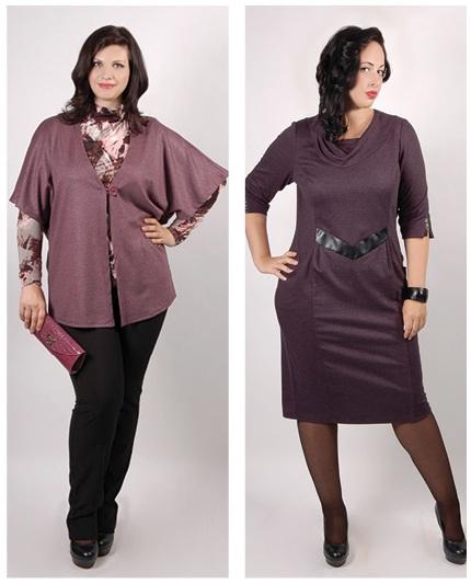Платье для полных дам за 60 лет