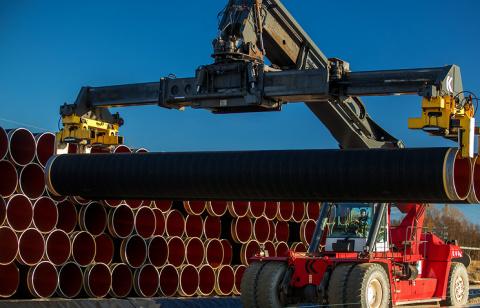 «Газпром» приступил к строит…