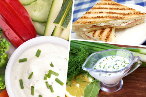 5 вкусных соусов на основе йогурта
