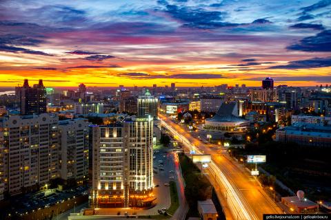 Новосибирск с высоты - лето-2017