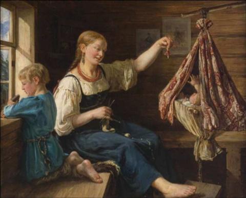 Восстановление после родов: Традиции наших прабабушек