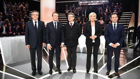 Признавать ли Крым: кандидаты в президенты Франции поспорили о России
