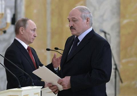 Путин и Лукашенко: общие проблемы сплачивают