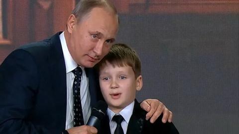 Порошенко испугался шутки Путина