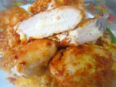 Фаршированные Куриные грудки с Идеально жареной Картошкой