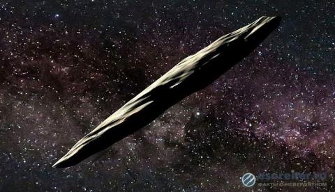 Астероид, подозрительно похожий на космический корабль, вошел в Солнечную систему