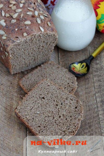 Хлеб-микс из 6 видов муки
