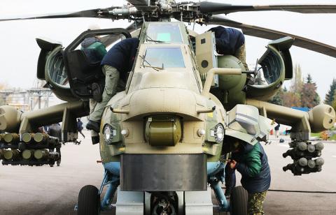 Система вооружения Ми-28НМ п…