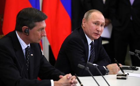 Российско-словенские переговоры на высшем уровне