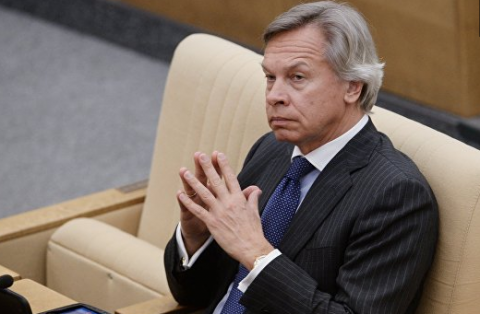 """Пушков ответил на слова Волкера о """"шаге назад"""" после встречи с Сурковым"""