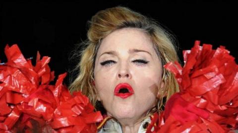 Мадонна обматерила Трампа в …