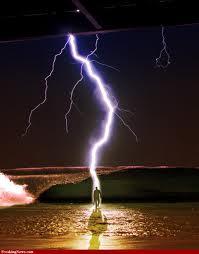 Когда молния становится карой небесной