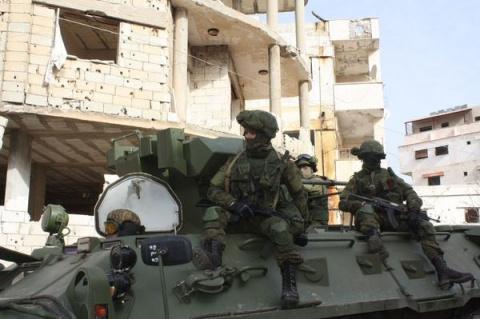 Российские военные прибыли в…