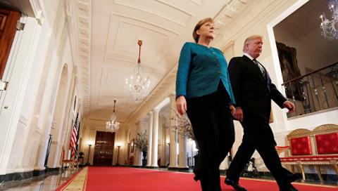 Меркель перед встречей с Трампом изучила его тезисы в Playboy