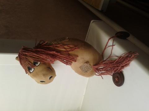 Чердачная игрушка. Автор Горошкина Софья. Учащаяся Школы дизайна