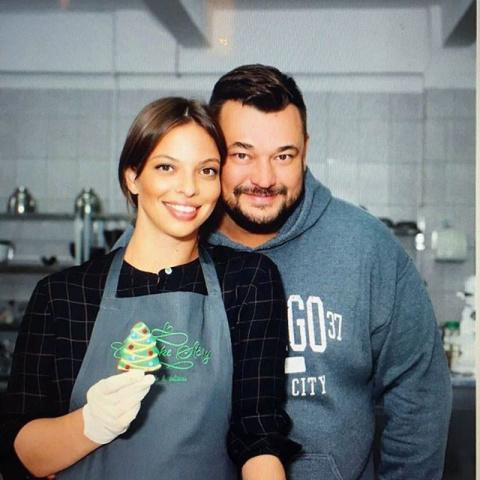 Сергей Жуков с женой открыва…