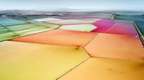 Красочные фотографии соляных…