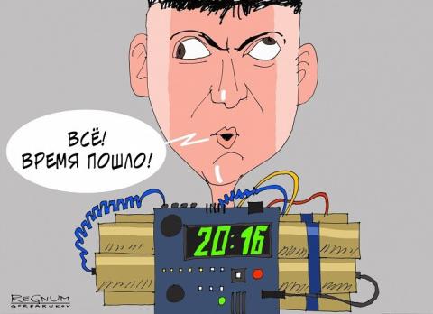 Савченко покусилась на Ростов