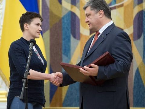 Савченко предложила обменять Донбасс на Крым