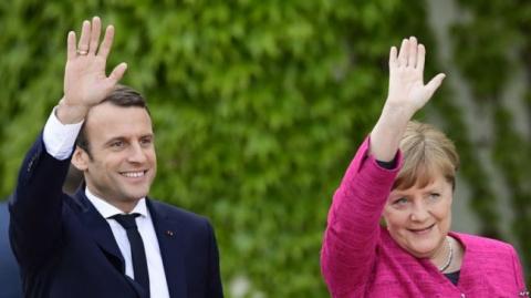 Меркель и Макрон сделали зая…