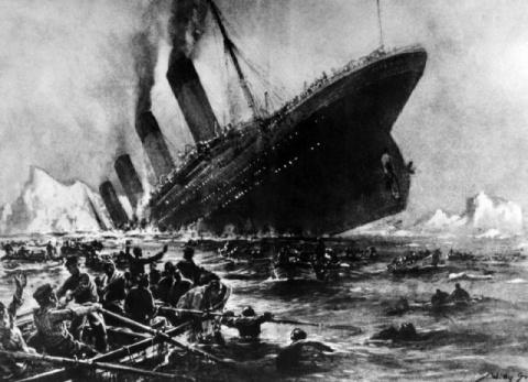 «Титаник» затонул не из-за а…