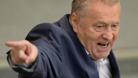Жириновский вывел фракцию ЛД…