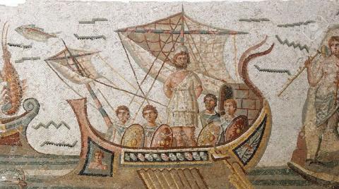 «Кругосветка» Одиссея?
