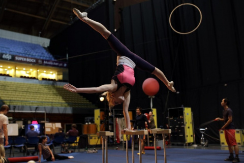 За кулисами цирка Дю Солей